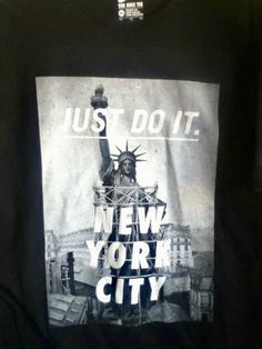 13e84d647d4e73 NWT NIKE NYC NEW YORK CITY STATUE OF LIBERTY BLACK T SHIRT 914292-010 Size