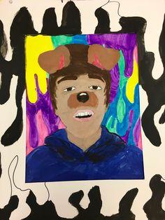 Art  Eat  Tie Dye  Repeat : Snapchat Self Portraits | Art