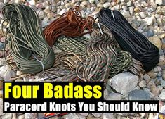 Four Badass Paracord Knots You Should Know - SHTF, Emergency Preparedness, Survival Prepping, Homesteading