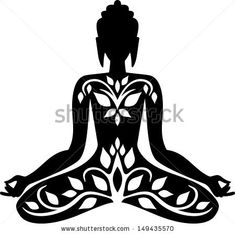 buddha drawing meditation would make a great tat