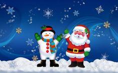 Christmas Snowman Wallpaper | http://bestwallpaperhd.com/christmas-snowman-wallpaper.html