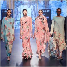 Tarun Tahiliani - Spring Summer 2017 - Chashme Shahi at Lakme Fashion Week. Lakme Fashion Week, India Fashion, Asian Fashion, Fashion Show, Fashion Goth, Indian Fashion Designers, Indian Designer Outfits, Indian Dresses, Indian Outfits