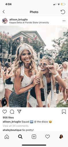 Kappa Delta Sorority, College Sorority, Sorority Sisters, Sorority Life, Theta, Recruitment Themes, Sorority Recruitment, Disco Theme, Disco Party