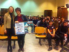 12 febr 2016 Istituto Plana prof.ssa Antonella Guglielmino e Caterina Migliazza presentazione seconda edizione premio letterario Caterina