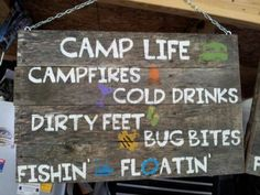 There's a reason why camping is regarded among the most common American pastimes. Though it's great to hear that camping is an enjoyable approach to devote some completely free time you may have, you may be thinking about in the … Camping Signs, Camping Glamping, Camping Life, Camping With Kids, Family Camping, Camping Gear, Campsite, Outdoor Camping, Camping Lunches