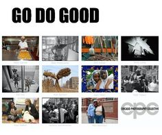 Go Do Good: Proceeds from the sale of this gorgeous coffee table book go right back to the non-profits whose photos are included in these very pages.  The book was created by the Chicago Photography Collective and highlight a number of non profits through a series of touching and heartfelt photographs.