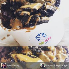 Great shot again from Paul! Oreo's and Lotus speak for themselves. #lotus #lotusbiscoff #lotussauce #oreos #frozenyoghurt #frozenyogurt #frogurt #food #foodie #foodpic #foodstagram #instafood #foodblog #foodporn #froyo #wirral #hoylake #beach #sun #daysout #weatkirby #hilbreisland  Repost from @paulfessey using @RepostRegramApp - Oreo & Brownie with Lotus Sauce  @theyogbar  #yoghurt #wirral #hoylake #baeswithyoghurt by theyogbar