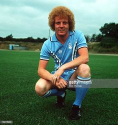 Sport Football Ian Wallace of Coventry City Circa 1978