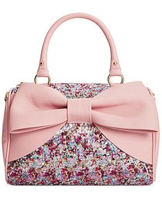 I want this!!!!! Betsey Johnson Macy's Exclusive Satchel
