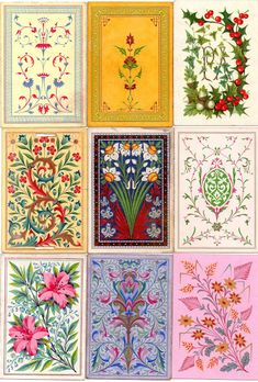 14: Back Designs - The World of Playing Cards | Owen Jones  1851-75