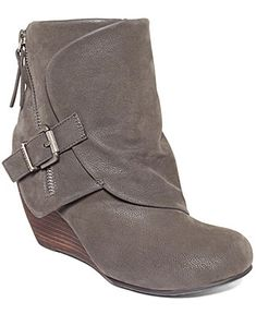Blowfish Boots, Bilocate Wedge Booties - Boots - Shoes - Macy's