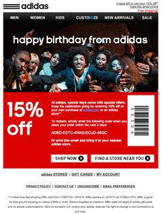 adidas online coupons 2015