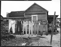 Arnold Newman Untitled (Laundry)West Palm Beach, Florida - 1941