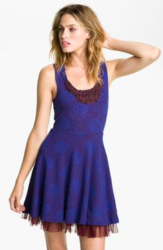 Free People Rock Princess Embellished Dress - $70