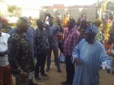 Wow! Check Out Governor Fayose's Outfit To A Community In Ekiti Today (Photos)  http://ift.tt/2p3ESy2