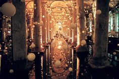 "allthingseurope:  "" The Basilica Cistern, Istanbul, Turkey  (by MagdaBis)  """