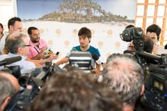 While enjoying a well earned rest before the World Cup, Anfi Ambassador David Silva took the opportunity to show the British & Euro sport Press around Anfi and his village of Arguineguin.
