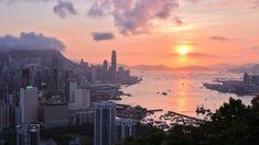 hk sunset