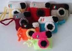 appareil photo, camera, porte clés, keychain AmiguruMINE - Crochet - AmiguruMINE ! Mes Amigurumis crochet