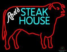Steak House Neon Sign Real Neon Light
