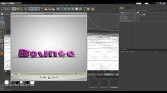 Tutorial about how to use a mograph text with a soft body tag.