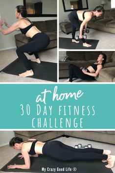At Home 30 Day Fitness Challenge