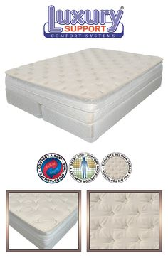The HarmonyAir LS5 is an elegant pillowtop airbed. http://www.healthysleep.us/m7/4002--harmony-11-inch-airbed.html