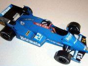 F1 Paper Model - 1984 Brasilian GP Osella FA1F Alfa Free Template Download