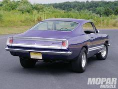 Plymouth Barracuda | 1968 Plymouth Barracuda Passenger Side Rear Photo 2