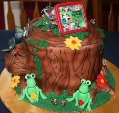 """Geocaching Together"" Cake"