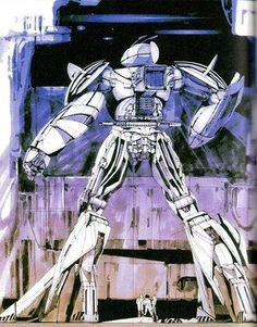 Gundam by Syd Mead
