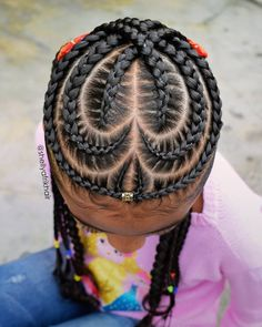 35 Must Try Cornrow Hairstyles The number styles you can create with cornrows are limitless! Read on our cornrows guide with conrow hairstyles inspiration and different looks you can create. Box Braids Hairstyles, Sporty Hairstyles, Cute Hairstyles For Kids, Baby Girl Hairstyles, Kids Braided Hairstyles, Black Hairstyles, Teenage Hairstyles, Ladies Hairstyles, Kids Hairstyle
