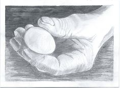 Preparatory drawing of hand