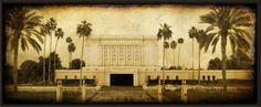 LDS Mesa Temple Picture Plaque. $40.00, via Etsy.