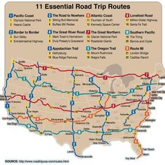 US travel History drive adventure America United States maps roadtrip sight seeing Road Trips Rv Travel, Travel Maps, Travel List, Adventure Travel, Places To Travel, Travel Destinations, Solo Travel, Travel Photos, Road Trip Map
