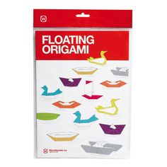 Drag the kids away from screens and devices—the ancient Japanese paper art of origami is fun enough to keep them busy for hours. The Floating Origami Box from NPW contains 30 sheets of brightly-colored large A4 size origami paper, plus a full-color book with detailed diagrams for folding eight fully-functioning models, from the classic paper boat to a catamaran.