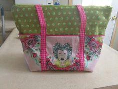 Tula Pink tote bag