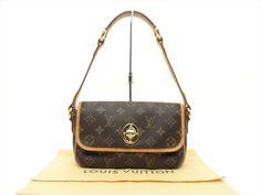 Louis Vuitton Authentic Monogram Tikal PM Shoulder Hand Bag Purse Auth LV #LouisVuitton #ShoulderBag