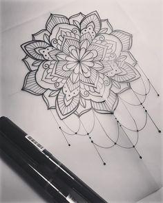 Mandala. #tattoo #tattooart #tattoodesign #mandala #mandalaart #mehndi #mehndiart #handdrawn #penandink #art #design #drawing #sketch #iblackwork #instaart #domholmestattoo #theblacklotusstudio