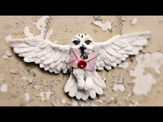 Download Polymer Clay Owl Necklace Video | WapTiny