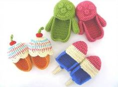Baby Booties...$5 dollars for all three patterns.