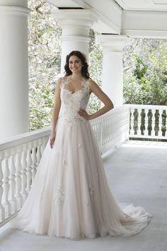 Een prachtige jurk met kanten top!