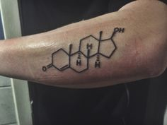 Testosterone, molecule, trans, LGBT, tattoo