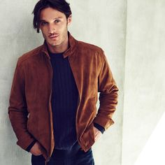Want the fall layered look? Wear a light jacket over a sweater.