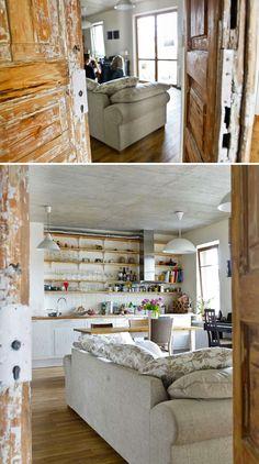 Upeat ovet keittiö