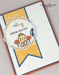 Stampin' Up! Special Delivery In The City Sneak Peek   Stamps – n - Lingers