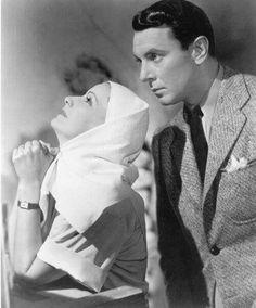 George Brent and Greta Garbo