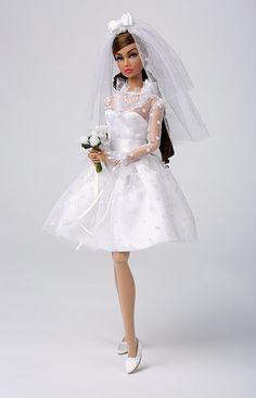 Wedding Belle Poppy Parker   by Poupée Chinoise