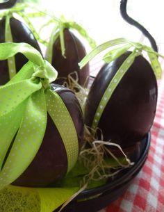 Oeufs chocolat. cuisineaubeurresalé