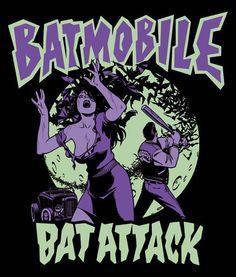 ♪Batmobile Psychobilly Music♬♪♩